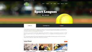 Sports Bar League Design