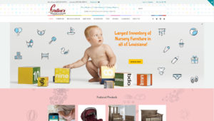 Baby Nursery Furniture Store Design