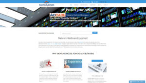 IT Hardware Reseller Website Design