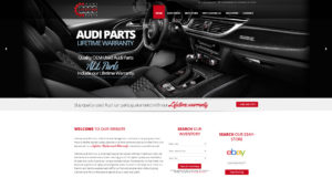 Audi Parts Web Site Development